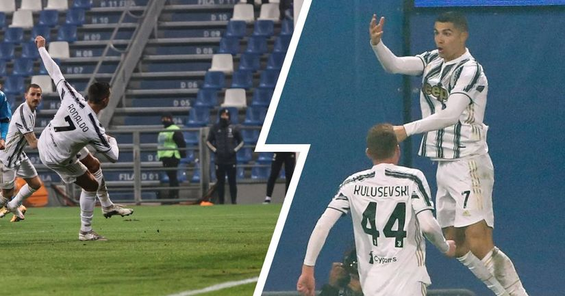 Cristiano Ronaldo becomes all-time best goalscorer in football history - logo