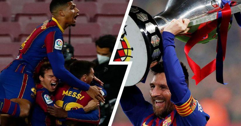 Взгляните на 9 игр, которые должна выиграть «Барса», чтобы выиграть Ла Лигу - логотип