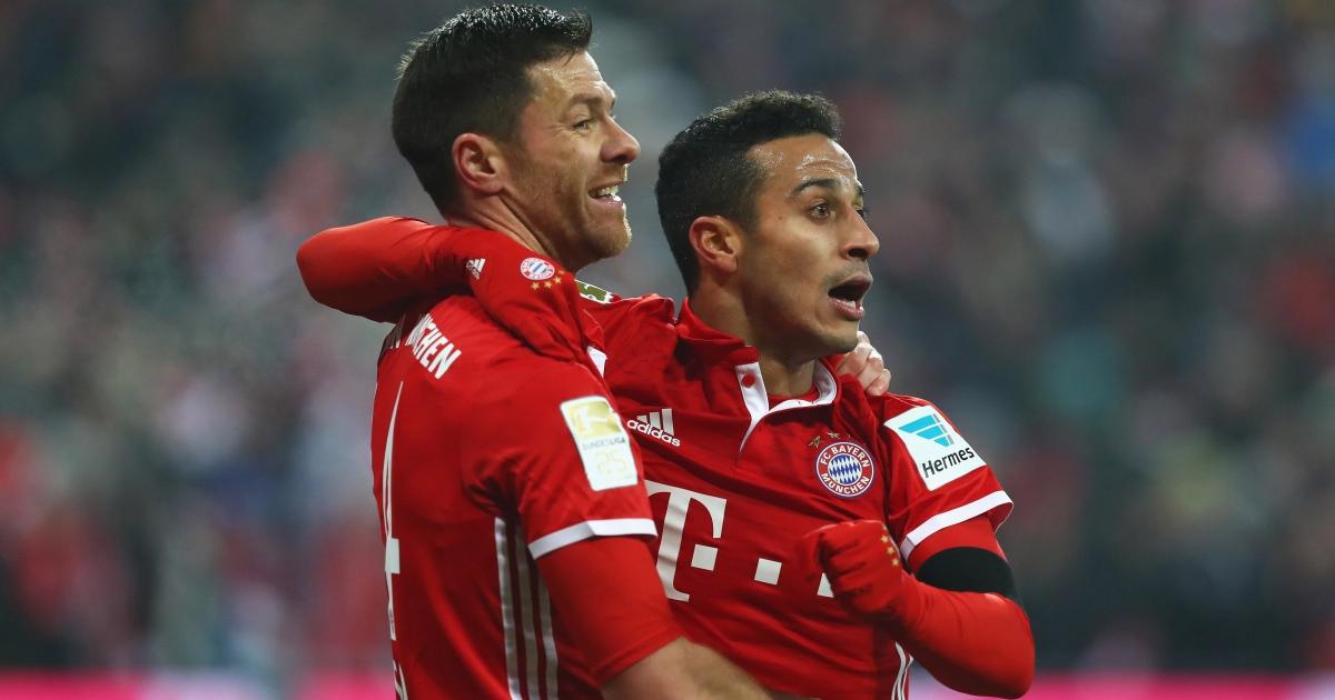 """Xabi Alonso: """"Ich habe es geliebt, Thiago bei Bayern zuzusehen"""""""