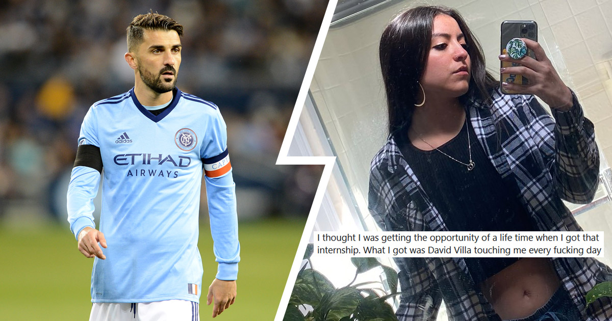 David Villa was touching me every f***ing day': Former New York City intern accuses ex-Barcelona star of groping and harassment