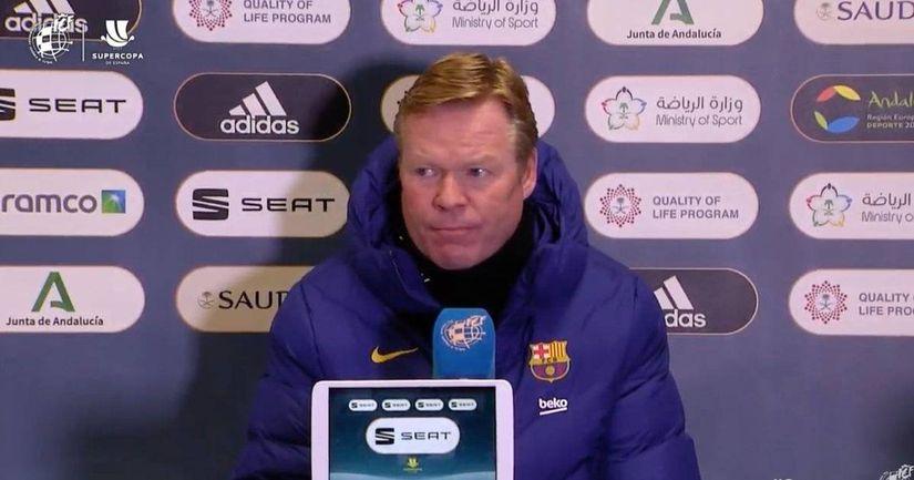 Куман: «Суперкубок важен, для перемен нет причин» - логотип