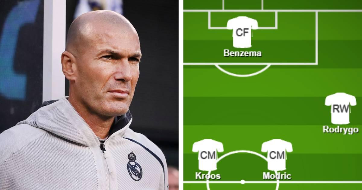 Le meilleur XI du Real Madrid pour attaquer les matches de Mars