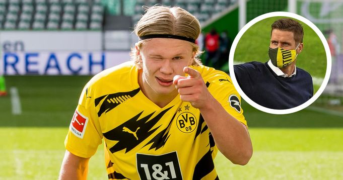 Haaland will continue with us for the next season: Dortmund director Kehl - logo