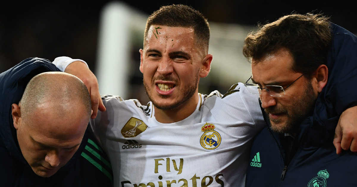Alarming: The number of days Eden Hazard has spent injured at Real Madrid