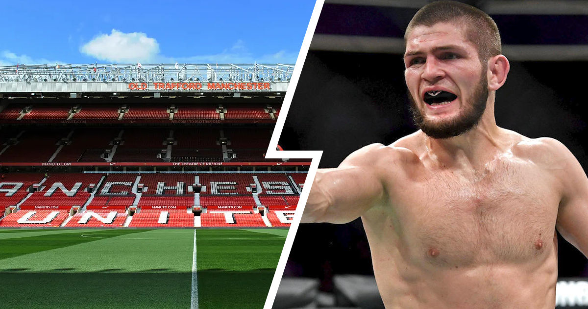 UFC superstar Khabib Nurmagomedov wants to travel to England and see Man United play