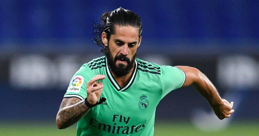 """Le Real Madrid """"pris au dépourvu"""" par la décision présumée d'Isco de partir, un transfert en janvier est improbable: Marca - logo"""