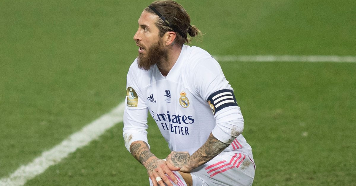 El Real Madrid se desploma sin Sergio Ramos en el campo