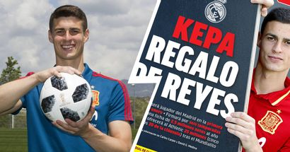 Kepa: 'No me consta que Zidane haya vetado mi traspaso al Real Madrid'