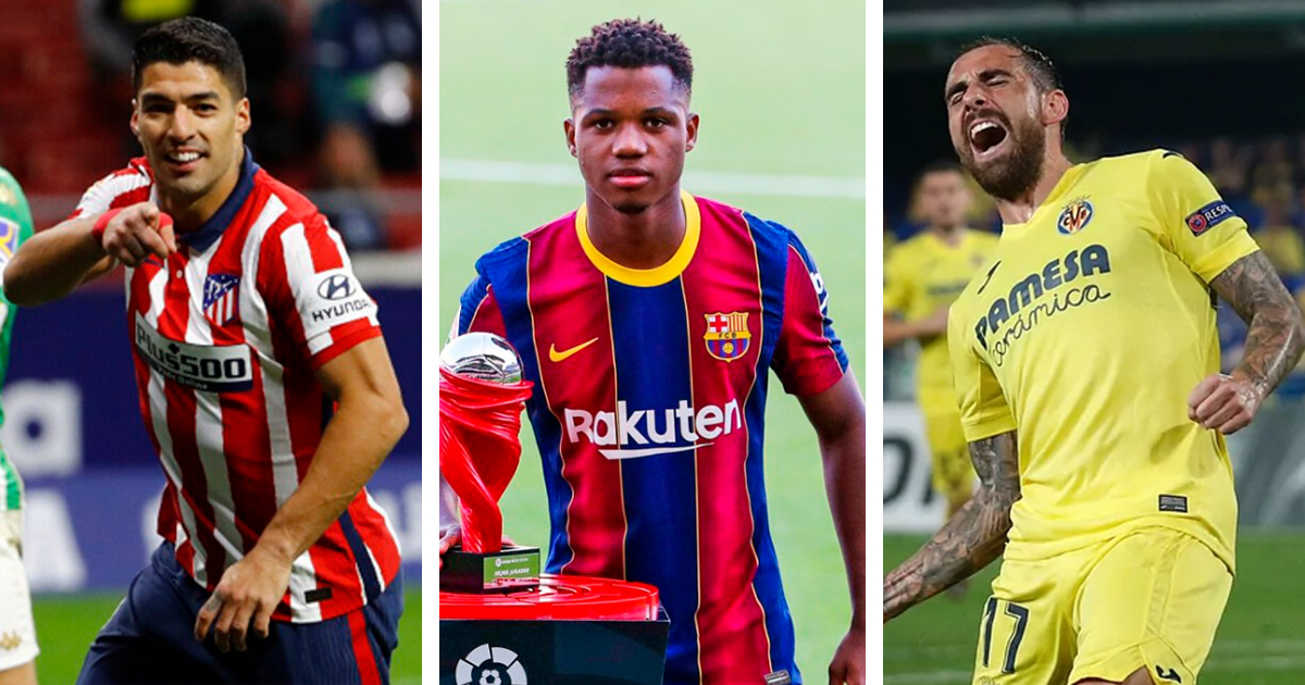 Ansu Fati, Luis Suarez and Paco Alcacer currently top La Liga's best goalscorers list