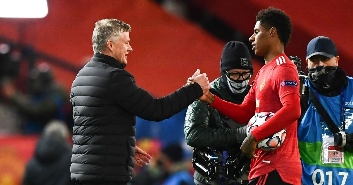 Learning from the best: Rashford equals Solskjaer's record with Leipzig hat-trick