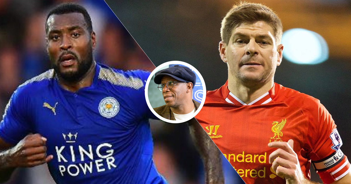 Image result for Ian Right on gerrard and morgan
