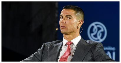 Das Sakko von Cristiano Ronaldo kennzeichnet den Grad seines Ehrgeizes