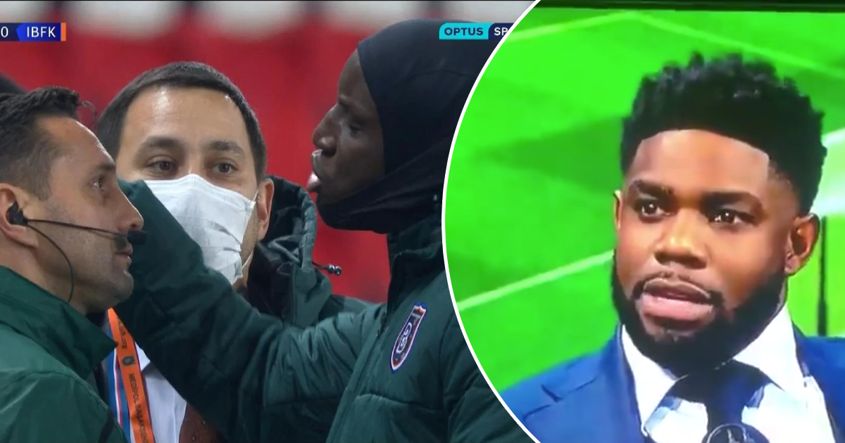 Micah Richards: 'I got abused by black community for not condemning Romanian ref in PSG v Istanbul game'
