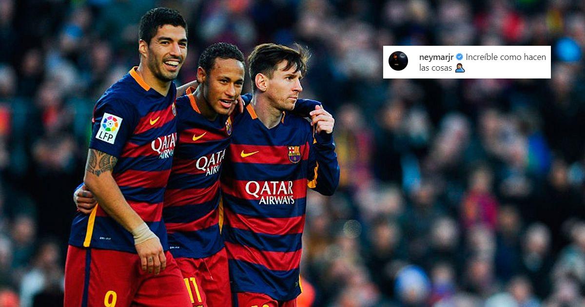 """Neymar Suaresning ketishi borasida: """"Buni qanday qilib amalga oshirishgani ajablanarli"""""""