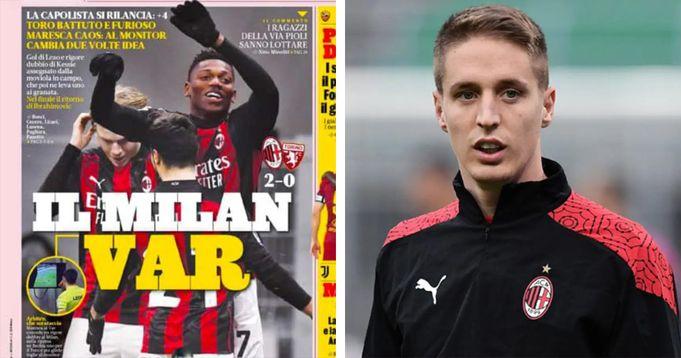 Da 'Milan VAR' della Gazzetta a Conti verso la Fiorentina: le 3 news più importanti sui Rossoneri che dovreste assolutamente leggere - logo