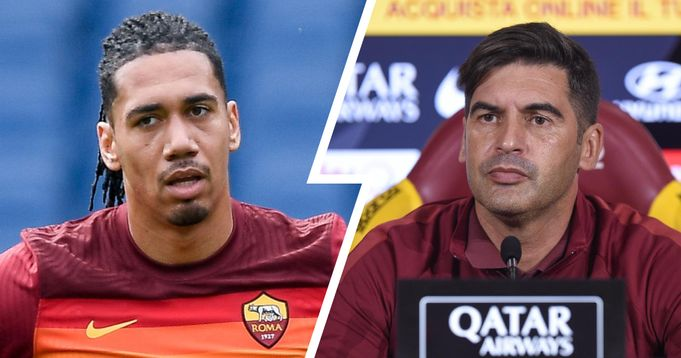 Roma boss provides update on Chris Smalling's availability for Man United clash