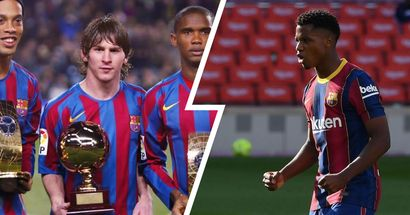 Ansu Fati: '¿Si soy el nuevo Messi? No me fijo en eso, solo pienso en aprender'