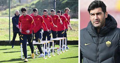 L'infermeria della Roma resta affollata: Fonseca forse può recuperare 2 giocatori per lo United
