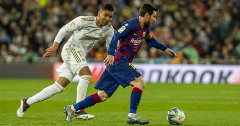 Real Madrid to face Barcelona in Supercopa final if beat Bilbao - logo