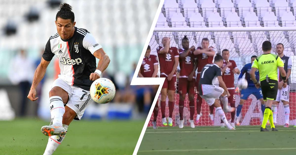 'Lo necesitaba': Ronaldo confiesa su alivio al marcar su primer gol de falta desde que dejara el Madrid