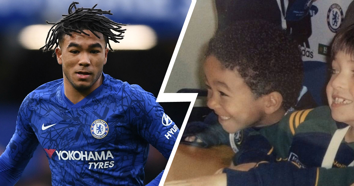 From cute little angel to beast: Reece James in 2 images