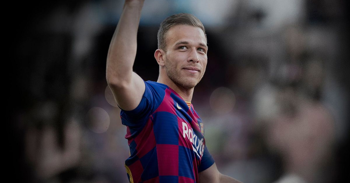 Arthur says final goodbye to Barcelona fans on his Twitter page