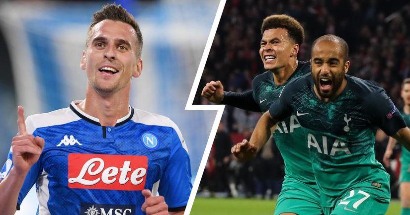 La Juventus ha una rivale in più per Milik: il Tottenham fa sul serio per il polacco mettendo sul piatto il cartellino di Lucas Moura - logo