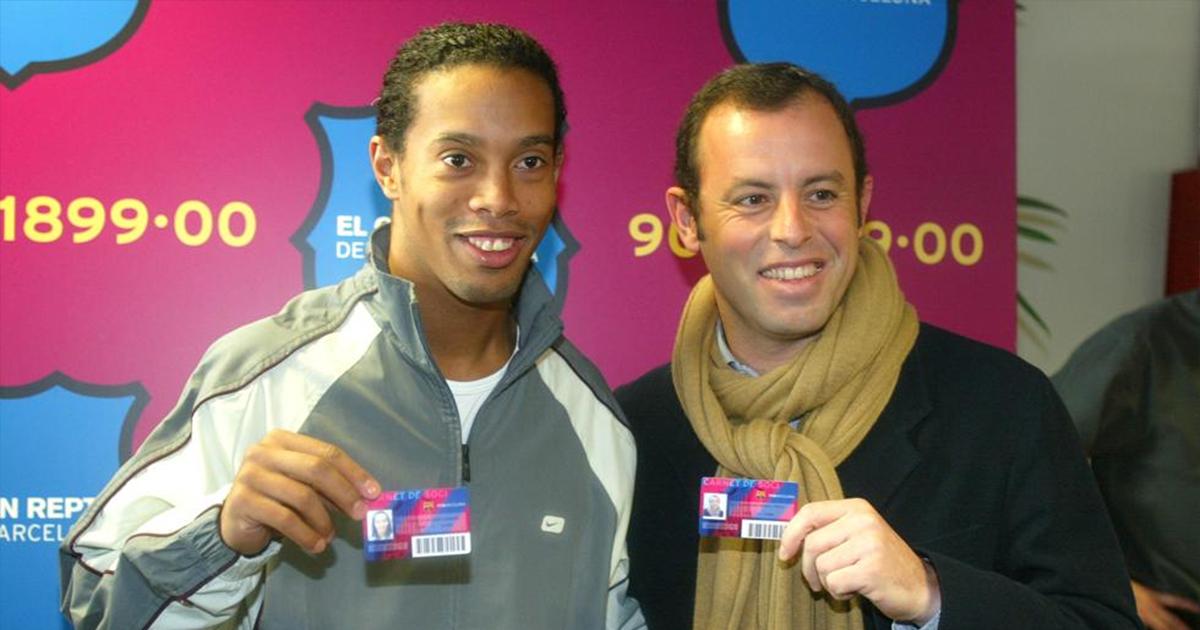 Rosell: 'Ronaldinho fue engañado, no sabe por qué está preso'