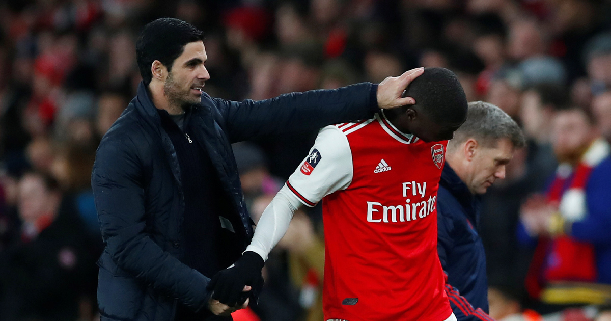 Mikel Arteta: 'I will give Nico my full support all the time'