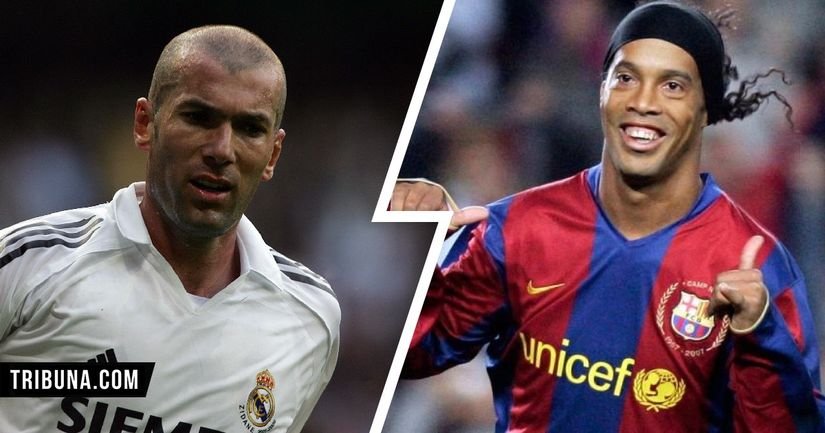 Zidane, Ronaldinho, Alan Smith and more: A look at some of Liverpool stars' footballing heroes - logo