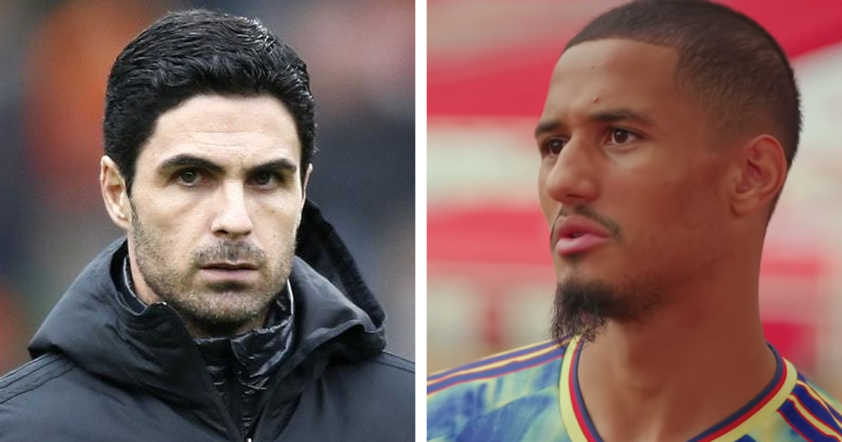 Saliba discusses his relationship with Arteta, names 2 Gunners who help him with English