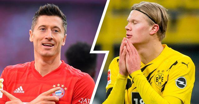 Die meisten Tore im Jahre 2020: Lewandowski toppt die Liste, Haaland vor Messi