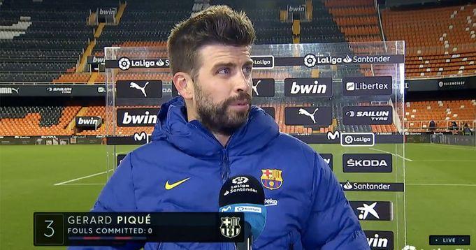 Pique names key factor to Valencia comeback - logo