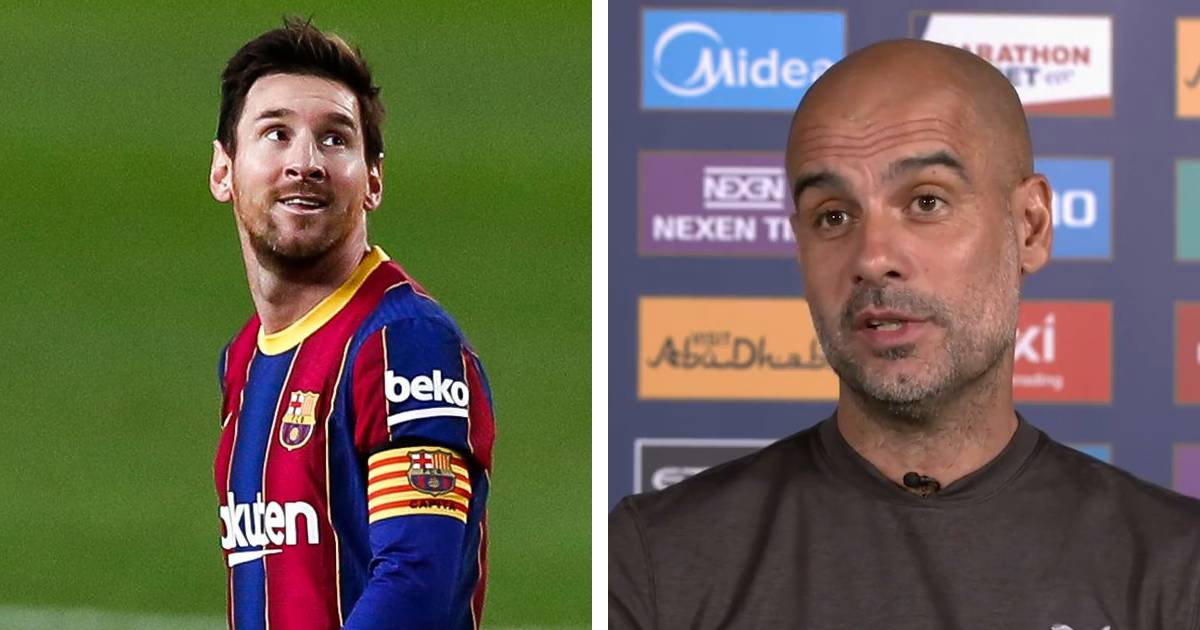 Pep Guardiola clears  Messi - Man city rumours: 'What I want for Messi is to finish his career at Barca'