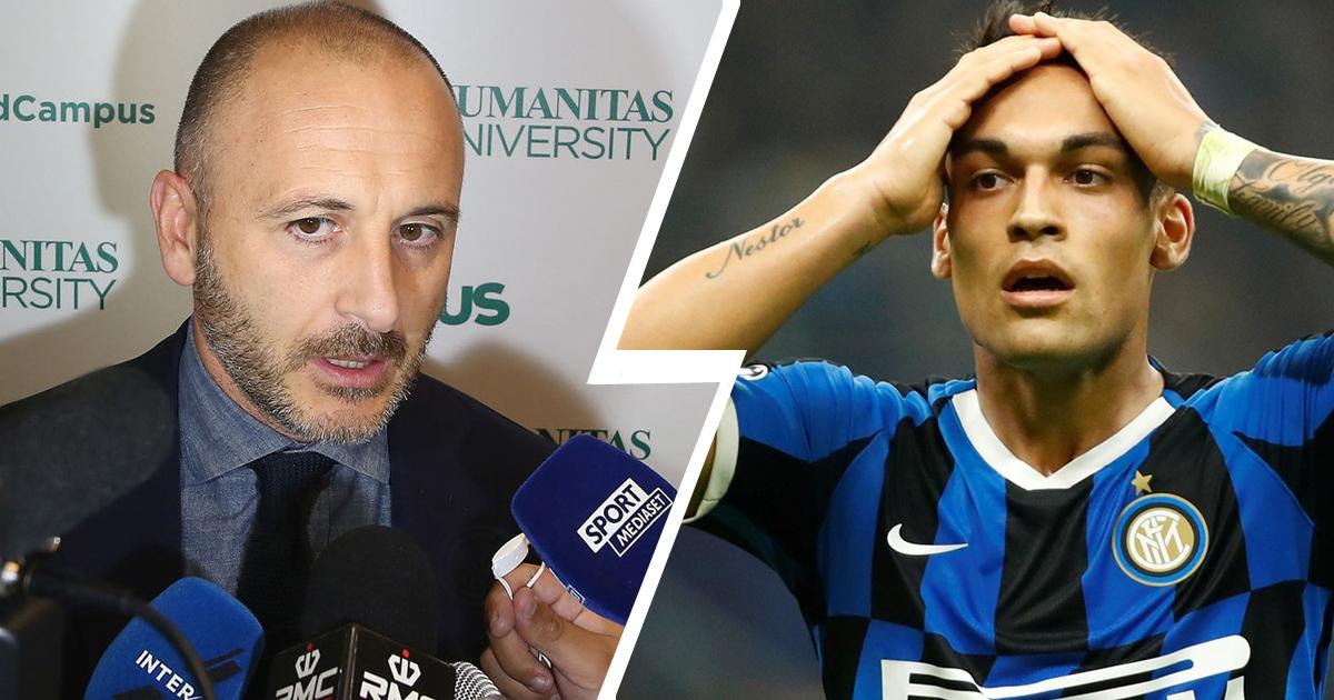 """Inter"" sport direktori Ausilio: Lautaro transferining yagona yo'li barchaga ma'lum"