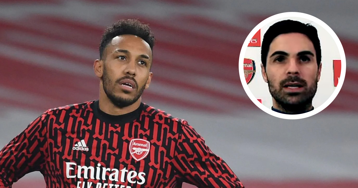 'We need to help him': Arteta adamant Aubameyang's poor run will be over soon, gives advice