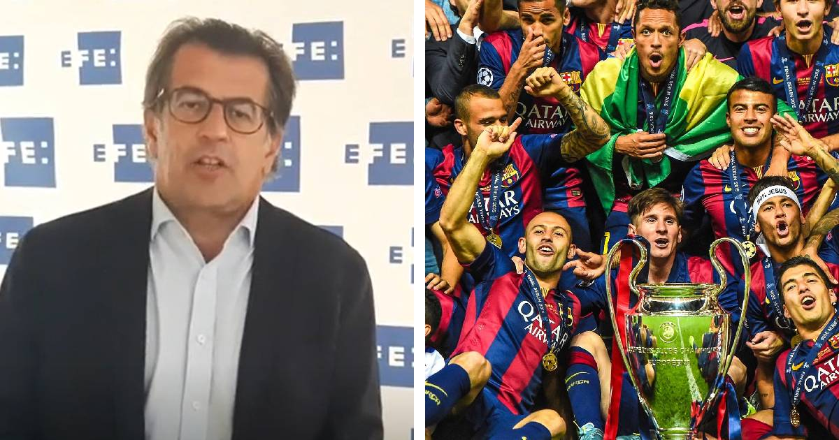 Barcelona Presidential candidate Freixa reveals Barca haven't won Champions League since he left