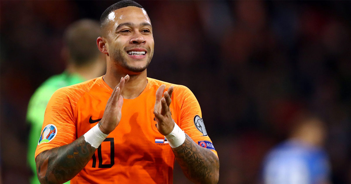 Barca rumoured target Memphis Depay has possibly made his future clear with his latest statement