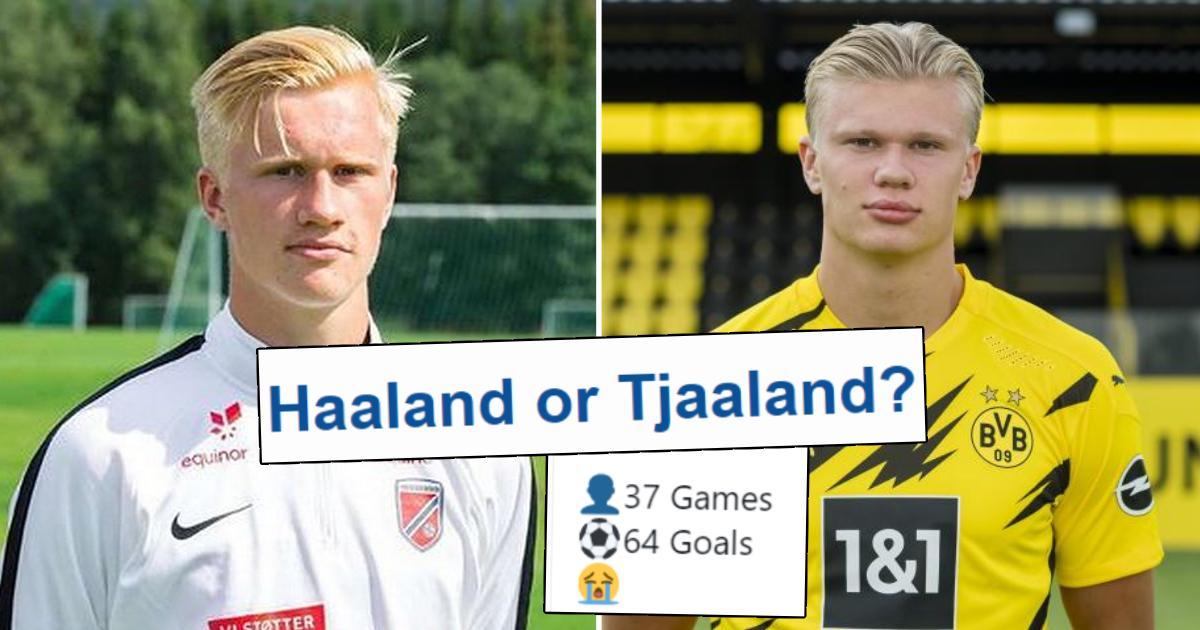 Est-il vrai que le cousin de Haaland, Albert Tjaaland, est aussi prolifique qu'Erling? Vous avez demandé - nous avons répondu