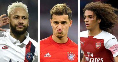 5 intercambios que el Barça podría hacer con Coutinho: clasificación de peor a mejor