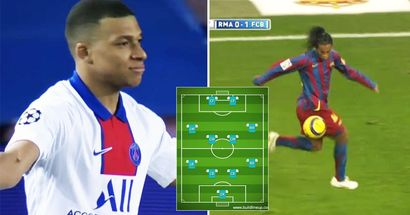 """Gli 11 giocatori di livello mondiale che Kylian Mbappé ha incluso nella sua """"squadra ideale"""""""