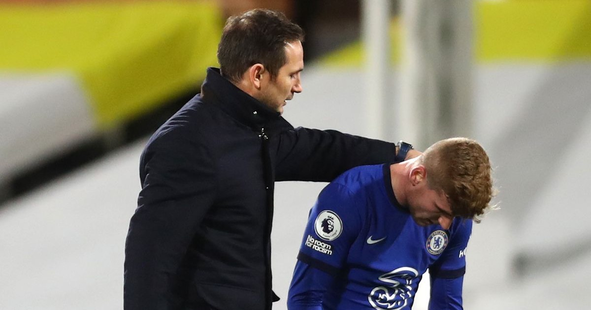 'Top strikers are hard on themselves': Lampard defends Werner amid Chelsea goal drought