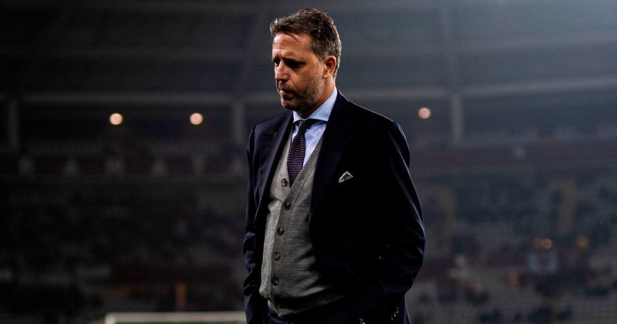 Paratici multato, ma ingiustamente: il CFO bianconero non avrebbe protestato con l'arbitro a fine primo tempo