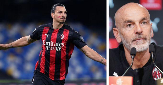 """""""Ibrahimovic? Domani troverà ritmo e minutaggio"""": Pioli anticipa l'atteso ritorno in campo di Zlatan"""
