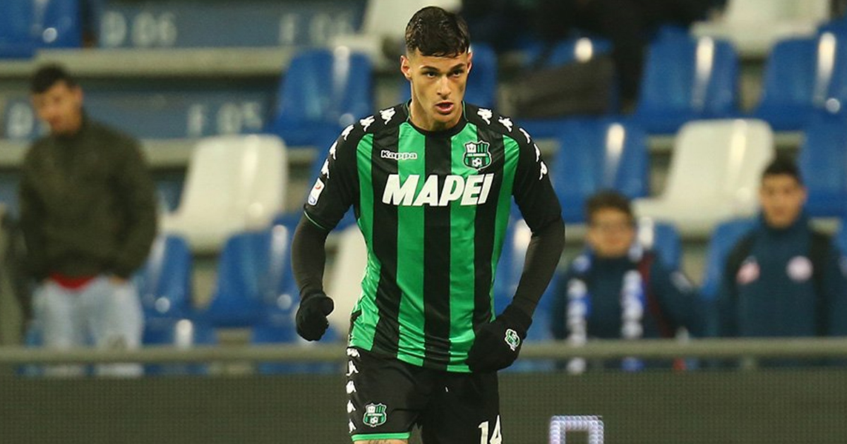 L'OM aurait fait une première offre de 12 millions d'euros pour Gianluca Scamacca, attaquant de Sassulo