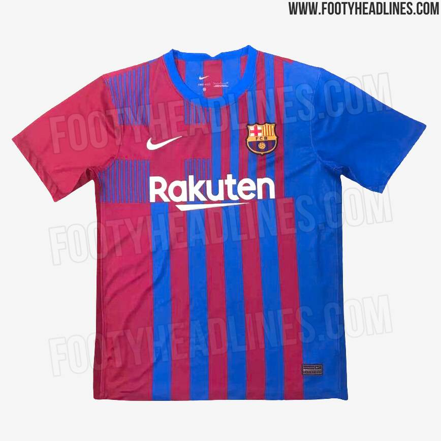 It stands to be a hugely significant season, especially because the. Barca's 2021/22 home kit leaked, including 1st look at its ...