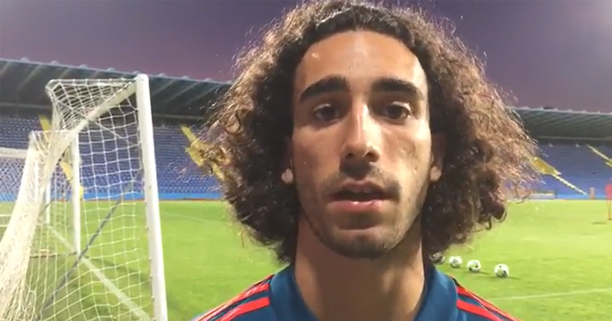 Marc Cucurella: 'I don't think they gave me a chance but Barca is my home'