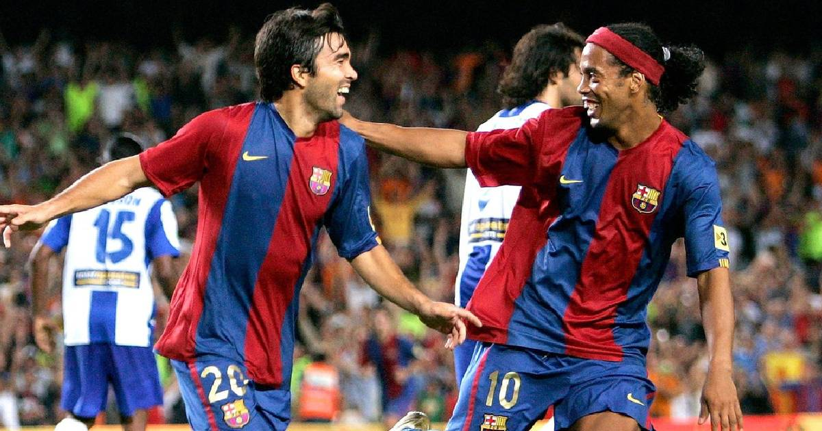 """""""Il était beaucoup plus doué que Leo ou Cristiano"""" : Quand Deco faisait les éloges de Ronaldinho"""
