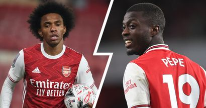 'Willian hasn't scored in 37 games': Arsenal fan makes passionate plea for Nicolas Pepe to get more starts