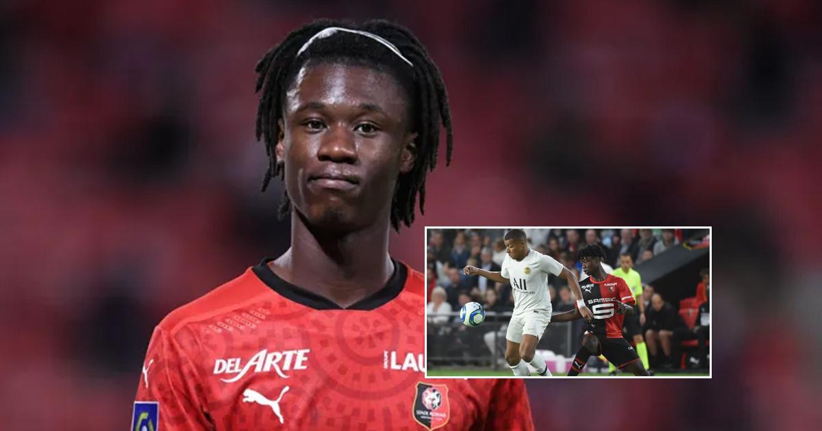 Camavinga rechaza una extensión de contrato con el Rennes (fiabilidad: 5 estrellas)